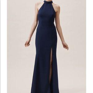 BHLDN navy gown